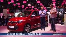 Renault Twingo 3 : sortie nationale - En direct du salon de Paris 2014