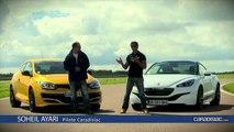 Les essais de Soheil Ayari - Renault Megane RS275 Trophy  vs Peugeot RCZ R