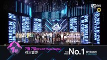 Who won the First in 4th week of March? [M COUNTDOWN] 160324 EP.466