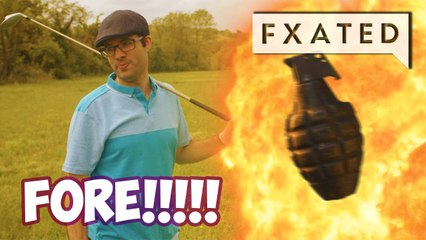 Let's Play Grenade Golf // Sneaky Shorts #3 by Sneaky Zebra | FXated