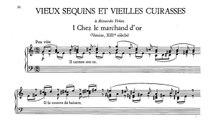 Erik Satie ~1913~ Vieux Sequins et Vieilles Cuirasses