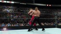 WWE 2K16 Y2J chris jericho v HBK shawn michaels