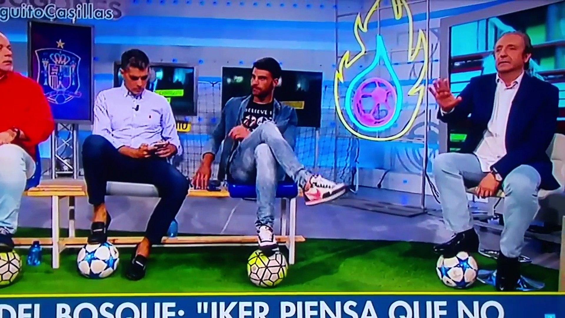 Vicente del bosque ataca a Iker Casillas