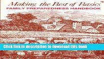 PDF Making the best of basics: Family preparedness handbook  Read Online