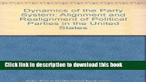 Read Dynamics of the Party System: Alignment and Realignment of Political Parties in the United