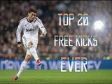 Top 20 Free Kicks from 2015-Best free kicks of 2015-Top Goals on Free Kicks-Top Goals collection