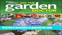 Read Better Homes and Gardens Ask the Garden Doctor (Better Homes and Gardens Gardening) E-Book