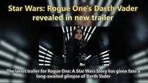 Star Wars - Rogue One's Darth Vader revealed in new trailer Short News