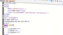 28 - HTML & CSS - Les balises div et span