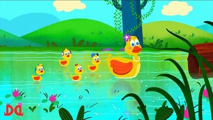 Five Little Ducks Mama Ducks Birthday