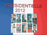 RÉSULTAT 1er tour  élection présidentielle Dimanche 22 avril 2012 Hollande-Sarkozy