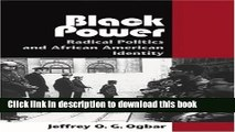 Read Black Power: Radical Politics and African American Identity (Reconfiguring American Political