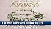 Download A Companion To Marx s Capital, Volume 2  PDF Free