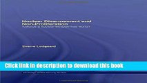 Download Nuclear Disarmament and Non-Proliferation: Towards a Nuclear-Weapon-Free World?