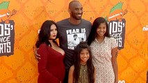 Kobe Bryant, Vanessa Bryant With Their Girls | Nickelodean Kids Choice Sports Awards 2016