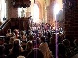 Skolavslutning  Östra skolan 10 juni 2011 i Kopparbergs kyrka, Falun