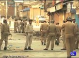 Occupied Kashmir still under curfew, death toll rises to 43