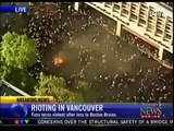 INSANE! NHL Vancouver Canucks Fans Riot After Losing Stanley Cup 2011 JUNE 15 2011