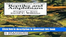 Read Book Reptiles and Amphibians: Self-Assessment Color Review (Veterinary Self-Assessment Color