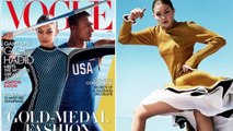 Gigi Hadid poses for Vogue as she reveals she almost ditched modelling for Olympic gold
