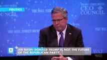 Jeb Bush: Donald Trump is not the future of the Republican Party