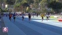 Finale 100 m Espoirs Hommes