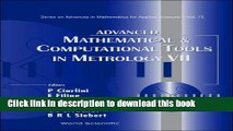 Read Advanced Mathematical And Computational Tools in Metrology (Series on Advances in Mathematics