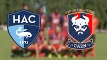 Le résumé du match Le Havre - SMCaen