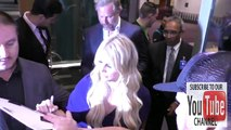 Jessica Simpson with husband Eric Johnson saying she's not athletic while leaving Regal LA Live Thea
