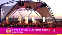 Kaye Styles feat johnny logan - Hold Me Now (Live at TOTZ)