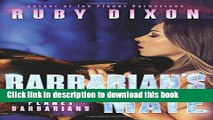 [Download] Barbarian s Mate (Ice Planet Barbarians) (Volume 7)  Full EBook