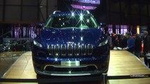 Vidéo en direct de Genève 2014 : Jeep Cherokee