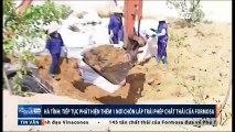 Hà Tĩnh: Tiếp tục phát hiện thêm 1 nơi chôn lấp trái phép chất thải của Formosa