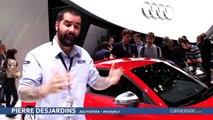 Salon de Genève 2014 - Audi TT, plus léger, plus puissant