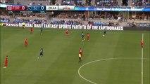 GOAL : Amarikwa - San Jose Earthquakes 1-0 Toronto FC - 16.07.2016 MLS