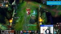 LoL Epic Moments #18 - Imaqtpie Tristana Pentakill + Baron steal   League of Legends