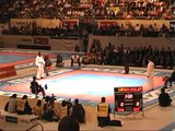 World Championship 2002 - Final Kumite Team Male- England Vs Spain - Fight 3
