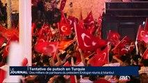 Tentative de putsch en Turquie: des milliers de partisans du président Erdogan réunis à Istanbul