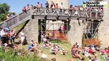 [Vidéo] Voyage au Moyen Âge pendant les médiévales au château du Coudray-Salbart