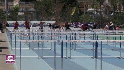 CF Espoirs : Finale 110 m haies Espoirs Hommes
