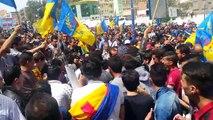 La marche du 20 avril 2016 à Tizi Ouzou...L'arrivé d'Oulahlou