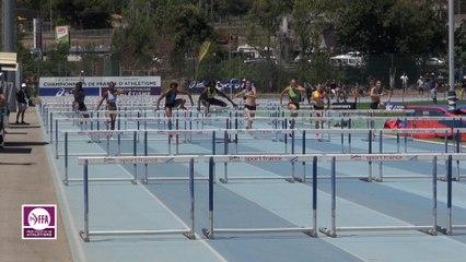 CF Espoirs : Finale 100 m haies Espoirs Femmes