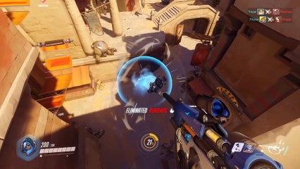 New Hero Ana Gameplay Story Trailer de Overwatch