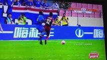 Demba Ba Horrific Leg Break vs Shanghai Sipg 17 07 2016  - demba ba horrific injury breaks leg