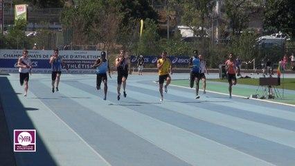 CF Espoirs : Finale 200 m Espoirs Hommes