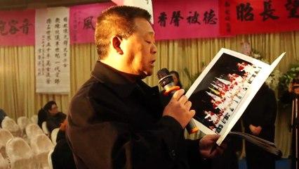 2011/2/20楊先鐸教練告別式   新竹忠信學校儀隊  祭文