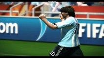 Lionel Messi TOP 10 Goals NEW  + Real Commentators (PES 2010) HD