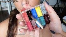 Maquillage Effets Spéciaux : Gorge Ouverte sur Julia Flabat