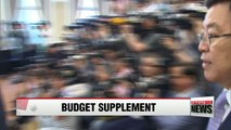 Finance minister, party representatives to discuss budget supplement