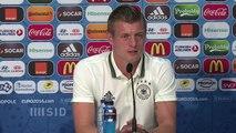 Kroos - 'Ukraine ist keine schlechte Mannschaft'